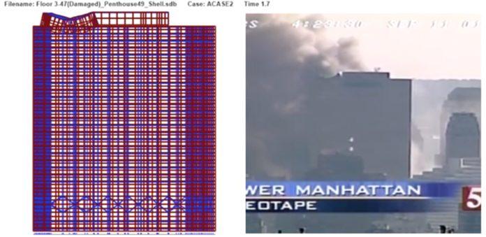 WTC 7 kan op 9/11 NIET door brand zijn ingestort !